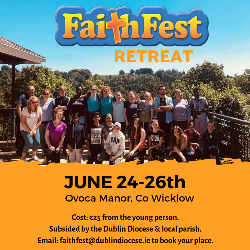 Faithfest Retreat Promo